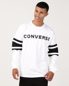 Converse Football Jersey White