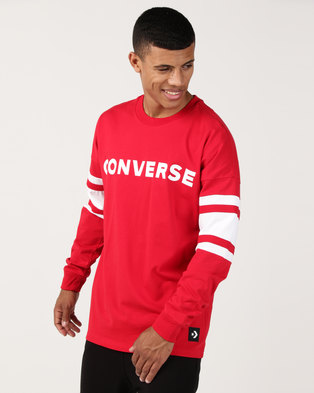 c37b4c7de5df Converse Football Jersey Red