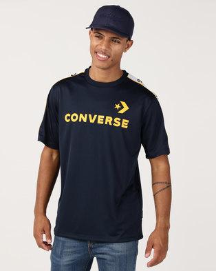 882fe0a4483 Converse Track Tee Blue