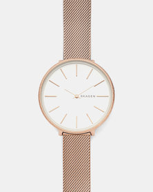 Skagen Karolina Watch Rose Gold-plated