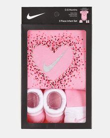Nike Glitter Hearts Set Pink