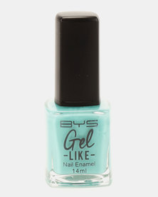 BYS Gel-Like Nail Polish Loco Lucite Green