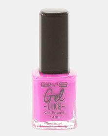 BYS Gel-Like Nail Polish On Point Purple