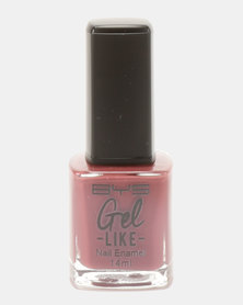 BYS Gel-Like Nail Polish Antique Rose