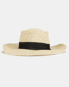 You & I Woven Boat Hat Natural