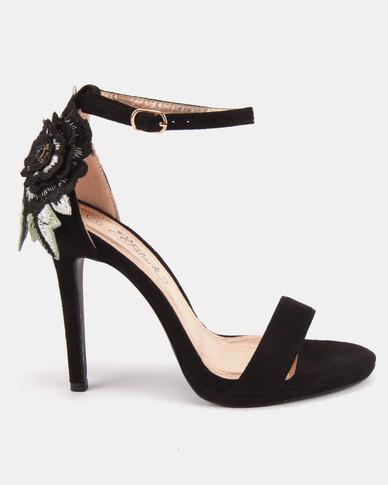 Miss Black Kaybee Platform Heels Black