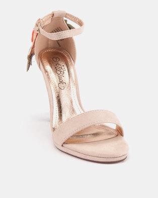 a7538e425ea Miss Black Kaybee Platform Heels Nude