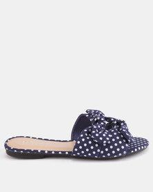 Miss Black Alslina Sandals Blue