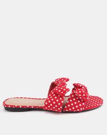 Miss Black Alslina Sandals Red