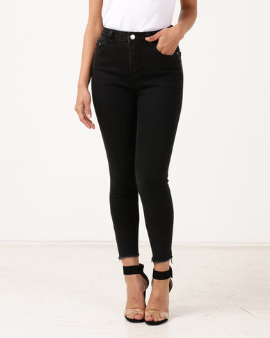 Unseen West-end Skinny Jeans Black