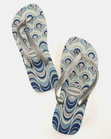 Havaianas Spring Flip Flops Black/Grey