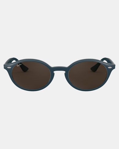 9e6643219c Ray-Ban Oval Framed Sunglasses Blue