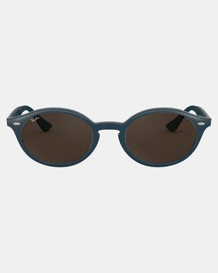 4ce530c6d92 Ray-Ban Oval Framed Sunglasses Blue