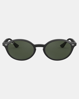 82093acb4c7fb Ray-Ban Oval Framed Sunglasses Black