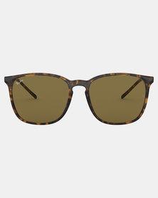 Ray-Ban Phantos Framed Sunglasses Havana