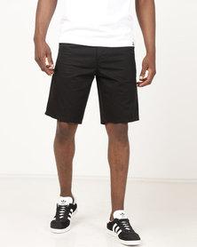 DC Worker Straight Shorts Black