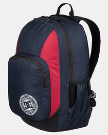 DC The Locker Backpack Navy/Red