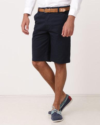 JCrew Printed Designer Shorts Blue