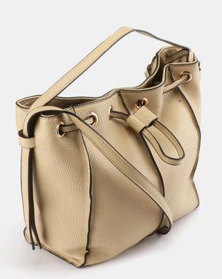 7109dd898bd0 Utopia Drawstring Bag Beige