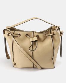 Utopia Drawstring Bag Beige