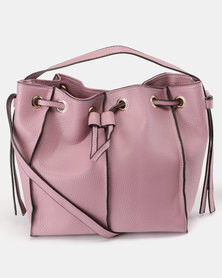 Utopia Drawstring Bag Lilac