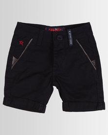 Soviet Boys Texan Cotton Shorts Navy