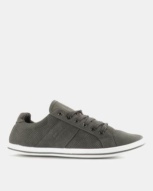e3a122fd3 Soviet Ravenswood PU Low Cut Sneakers Grey