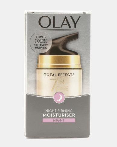 Olay Total Effects 7-In-1 Anti Aging Firming Moisturiser Night Cream 50ml