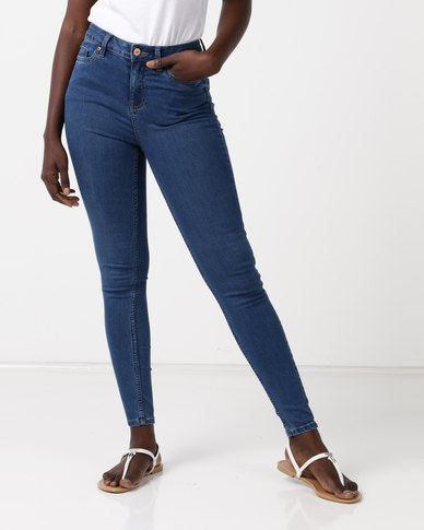 New Look Super Soft Super Skinny India Jeans Blue