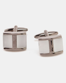 Polo Cufflinks Gunmetal