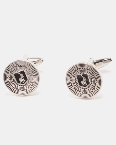 Polo Heritage Collection Cufflinks Silver