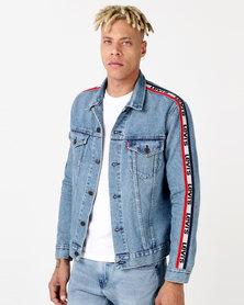 Levi's ® Sportswear Trucker Jacket Blue