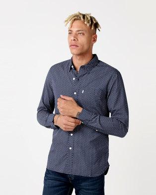 Levi's ® Sunset One Pocket Shirt Blue