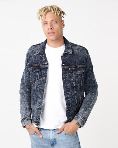 Levi's ® Trucker Jacket Contra Costa Blue