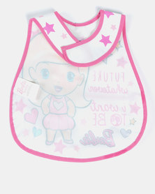 Barbie Catcher Bib Pink