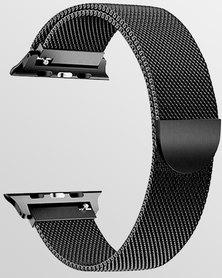 Gretmol Milanese Apple Watch Replacement Strap Black - 42 mm