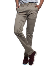 Ballantyne Slim Fit Chino Taupe