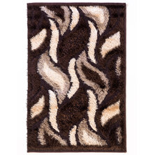 Lush Living Pastel Rug Brown