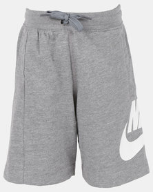 Nike YA FT Alumni Shorts YTH DK Grey Heather