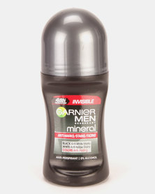 Garnier Mineral Men Roll On Invisible BWC 50ml