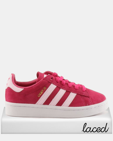 adidas Originals Girls Campus C Sneakers Pink