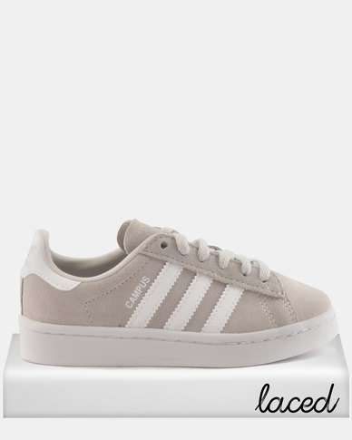 7c978f5fe3d1 adidas Girls Campus C Sneakers Grey