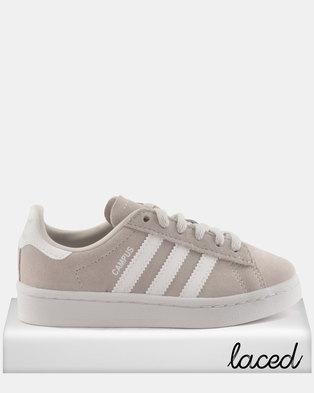 fa8fffa43b13 adidas Girls Campus C Sneakers Grey