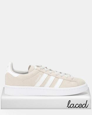 Adidas Girls Campus J Sneakers Grey