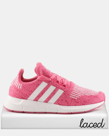 adidas Originals Girls Swift Run J Sneakers Pink