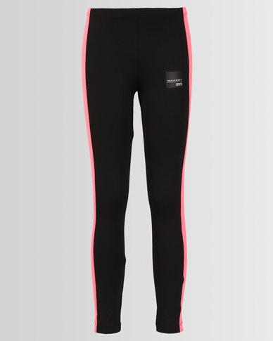 af4fe7b117d adidas Originals Girls J EQT Leggings Black | Zando