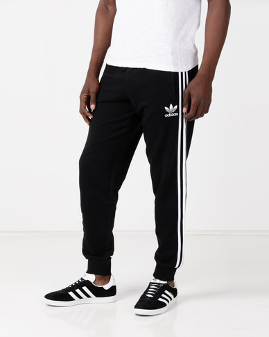 adidas Originals 3 Stripe Pants Black