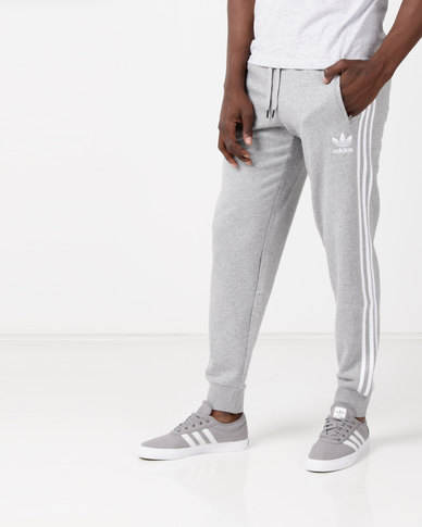 adidas Originals 3 Stripe Pants Grey