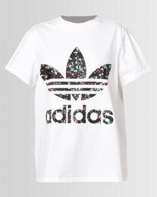 adidas Originals Logo Tee White