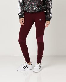 adidas Originals CLRDO Tights Maroon
